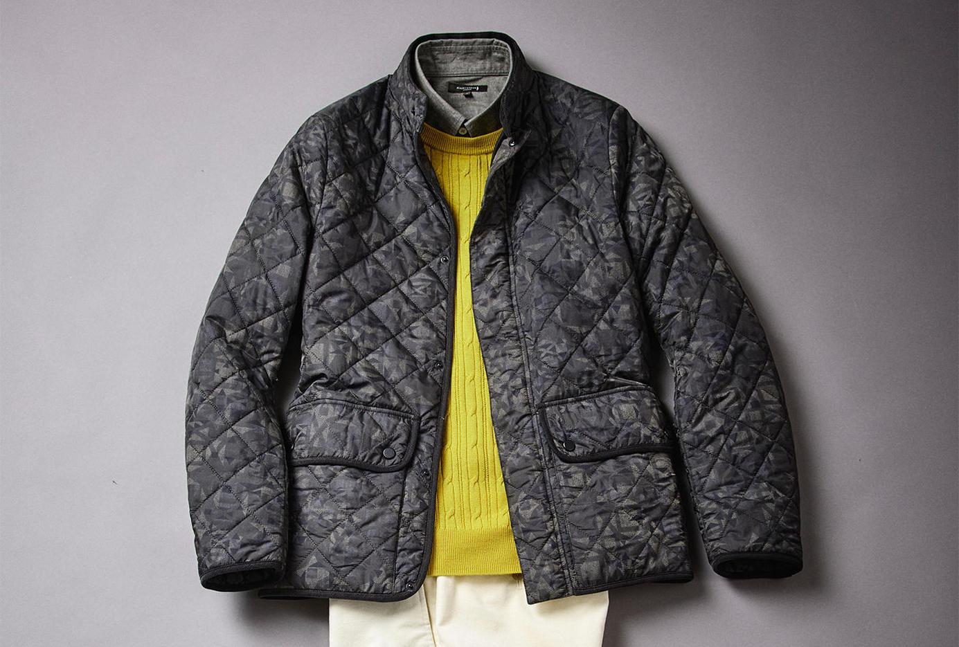 「キルティング ジャケット」と「ニット」は今年こそ買い時