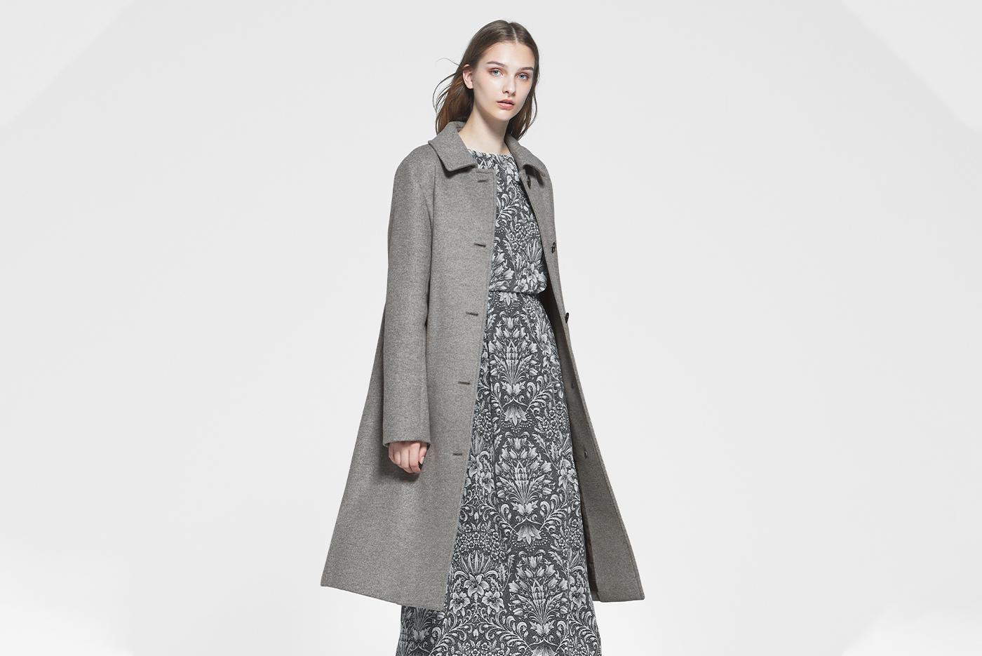 こだわりの詰まった上質コートで真冬の洗練を纏う