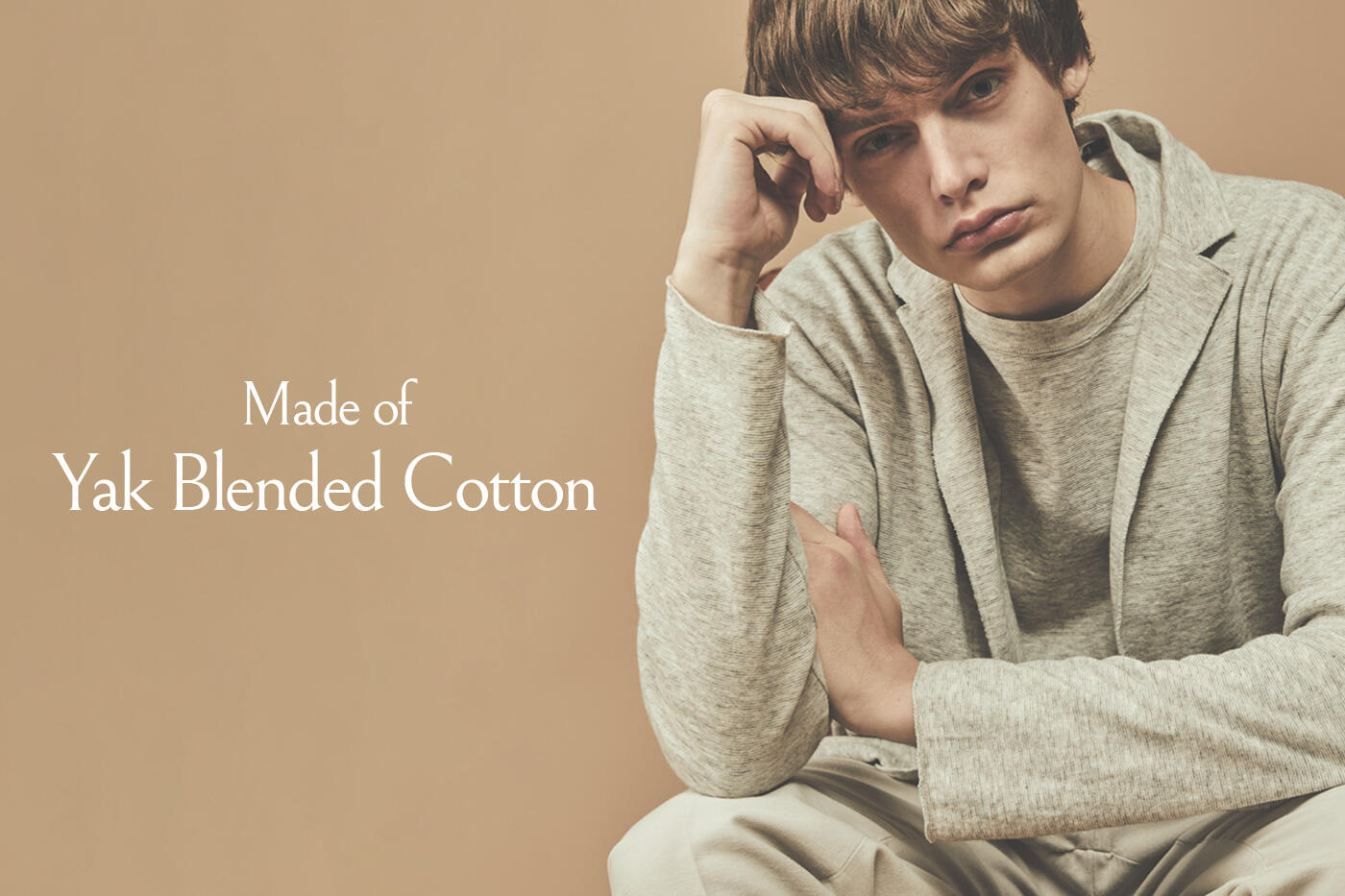 Made of  Yak Blended Cotton