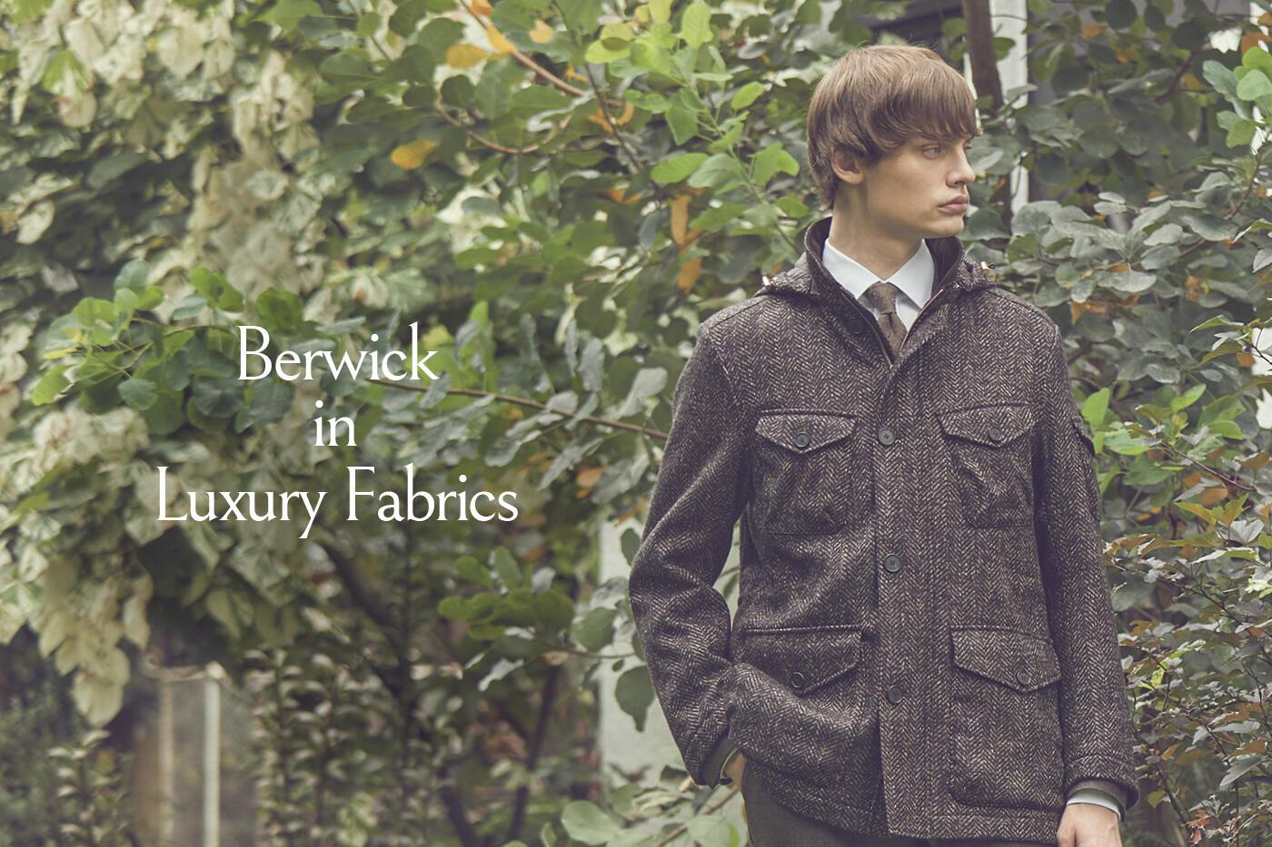 Berwick in Luxury Fabrics